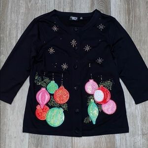 NWT Onque Casual Holiday Cardigan